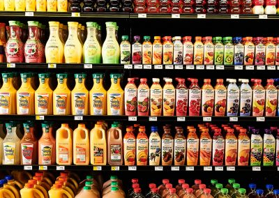 Juices and fruit drinks