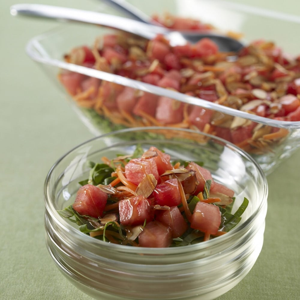 Watermelon Gingered Japanese Salad